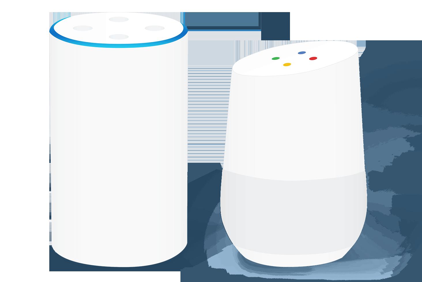 Wir produzieren Software für Googles Sprachassistenten